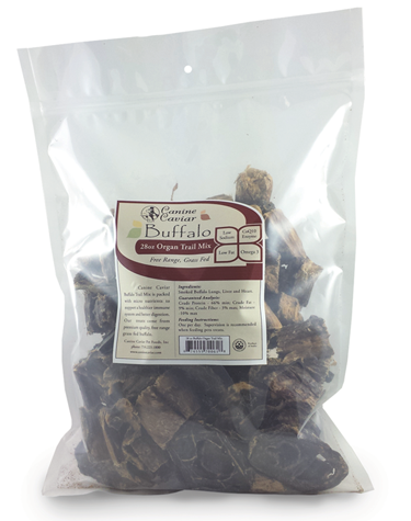Canine Caviar Buffalo Organ Trail Mix - Canine Caviar Pet Foods Inc.