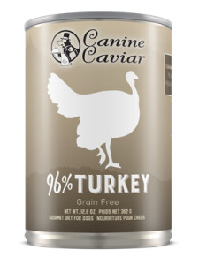 Canine Caviar Turkey Canned Dog Food